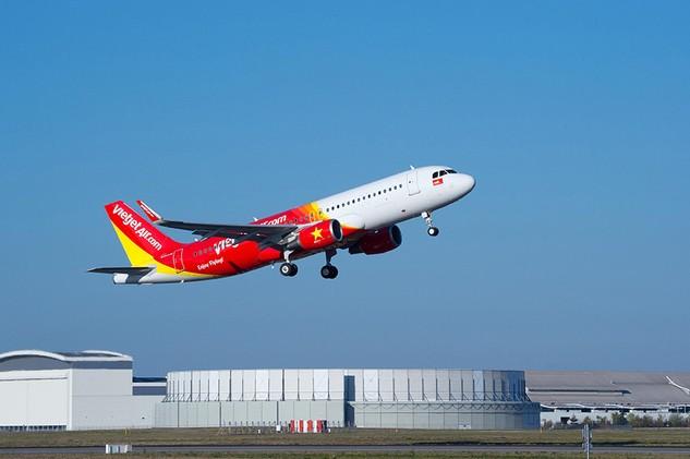 150.000 vé giá từ 0 đồng mừng 3 đường bay mới của Vietjet