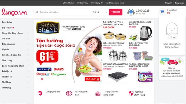 Lingo.vn từng được kỳ vọng trở thành website bán lẻ trực tuyến hàng đầu Việt Nam