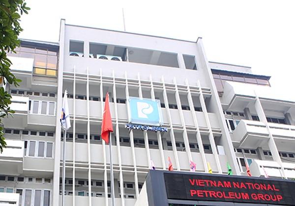 Một góc trụ sở Tập đoàn Xăng dầu Việt Nam.