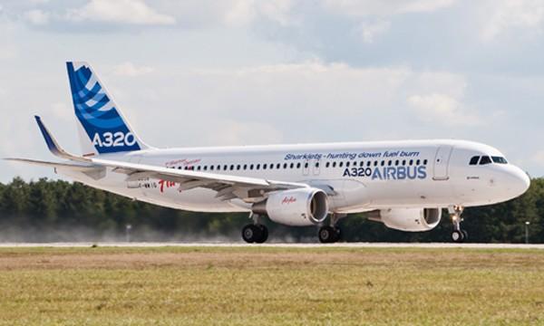 Máy bay A320 CEO của Airbus.