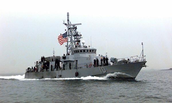 Tàu USS Firebolt. Ảnh: Wikimedia.