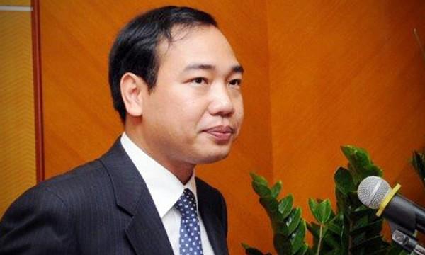 Tân Vụ trưởng vụ Tổ chức cán bộ (Bộ Công Thương) - Trần Quang Huy.