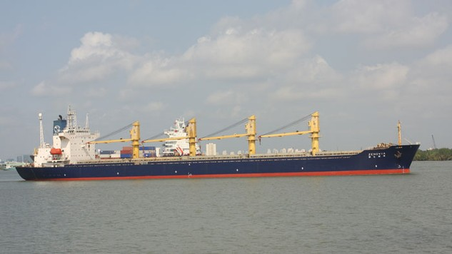 Các hãng tàu biển đã và đang đua nhau hạ giá cước để giành khách hàng. Ảnh:Tiên Giang
