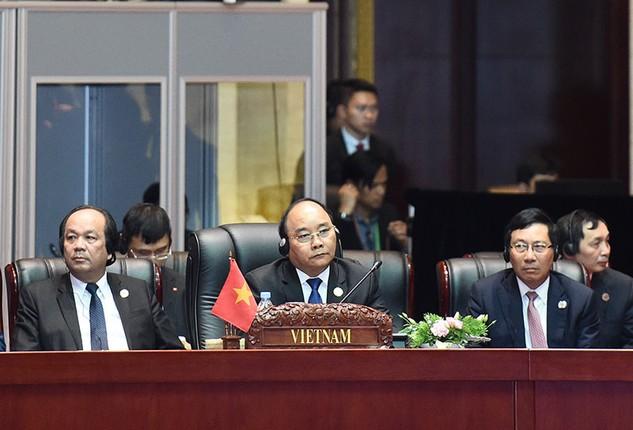 Hội nghị Cấp cao ASEAN lần thứ 28 - 29 tổ chức tại Lào từ ngày 6 - 8/9/2016. Ảnh: Quang Hiếu