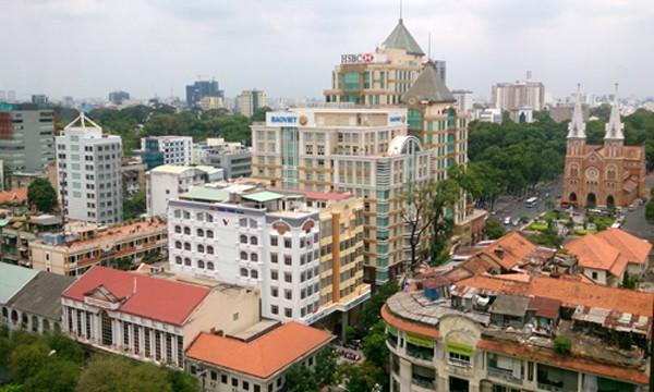 Giá thuê mặt bằng bán lẻ tại 2 đô thị lớn nhất Việt Nam đều trên đà giảm. Ảnh: Vũ Lê