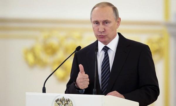 Tổng thống Nga Vladimir Putin. Ảnh: AFP