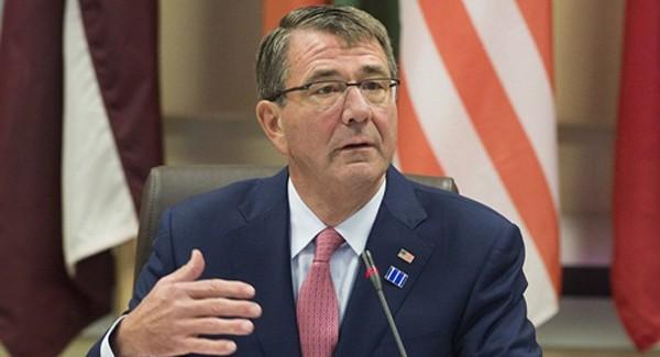 Bộ trưởng Quốc phòng Mỹ Ashton Carter. Ảnh: AFP
