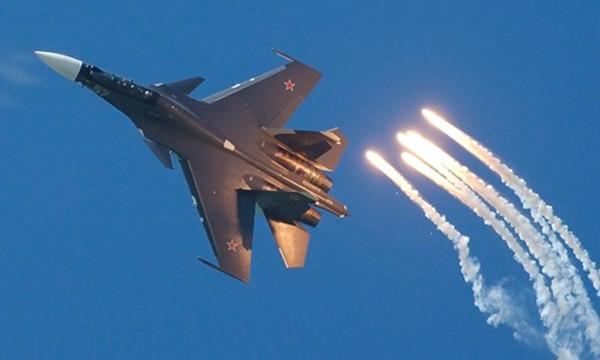 Chiến đấu cơ Su-30 của Nga. Ảnh: Sputnik