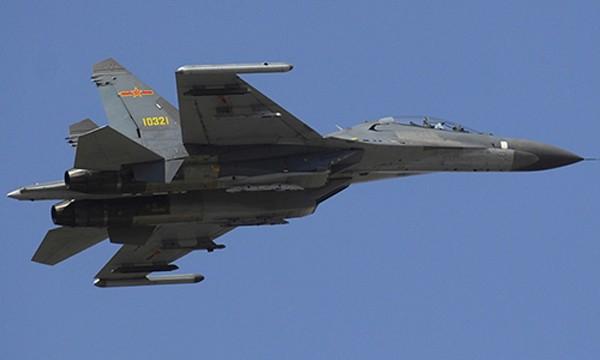 Chiến đấu cơ J-11 của Trung Quốc. Ảnh: Wikipedia.