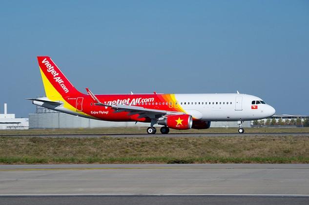 Nhiều chuyến bay Vietjet bị ảnh hưởng do thời tiết xấu