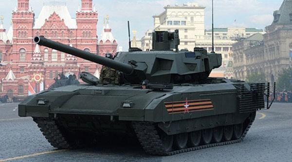 Xe tăng chiến đấu chủ lựcT-14Armatacủa Nga. Ảnh:Sputnik