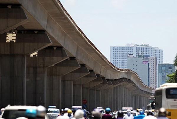 Tuyến đường sắt Cát Linh - Hà Đông sẽ có thêm vốn để triển khai hoàn thành. Ảnh: VOV