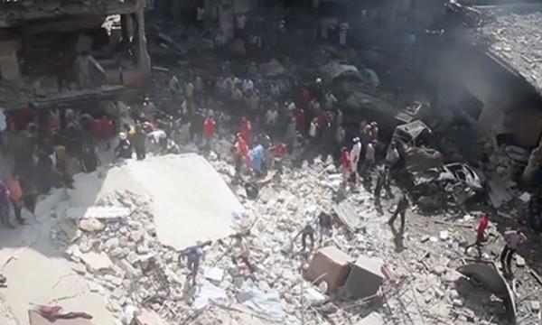 Cuộc nội chiến kéo dài 5 năm ở Syria chưa có dấu hiệu sẽ chấm dứt. Ảnh: Skynews