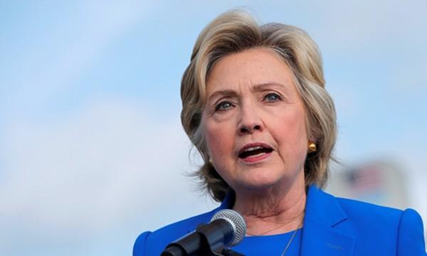 Bà Hillary Clinton. Ảnh: Reuters.