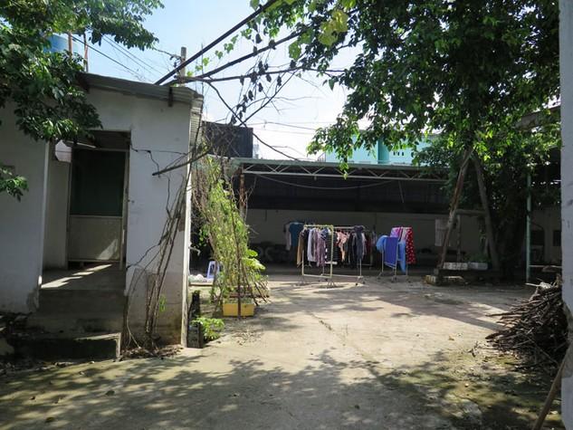 Hình ảnh ghi nhận tại địa chỉ đăng ký của Công ty CP Xây dựng công trình giao thông Thái Sơn - 51 Lã Xuân Oai, phường Long Trường, quận 9, TP.HCM