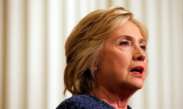 Hillary Clinton, ứng viên tổng thống đảng Dân chủ Mỹ. Ảnh: Reuters