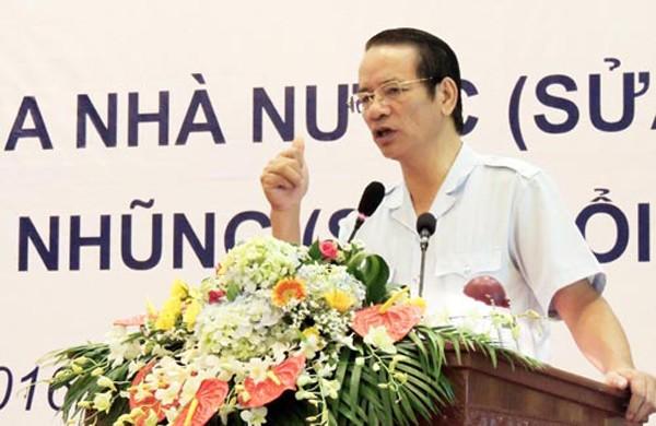 Phó tổng thanh tra chính phủ Nguyễn Văn Thanh. Ảnh: Võ Hải.