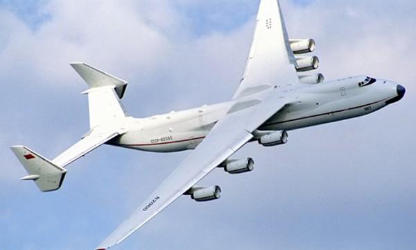 Vận tải cơ An-225 là máy bay lớn nhất thế giới hiện nay. Ảnh: Wikipedia