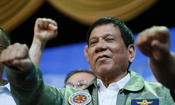 Tổng thống Philippines Rodrigo Duterte. Ảnh:AP