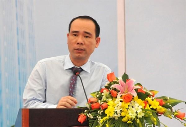 Cựu tổng giám đốc PVC Vũ Đức Thuận.Ảnh: VTC
