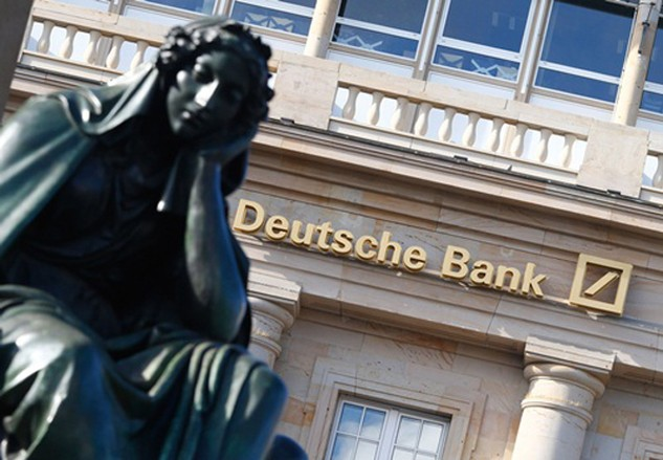 Deutsche Bank đang đàm phán hạ thấp khoản tiền phải trả cho giới chức Mỹ. Ảnh:Reuters