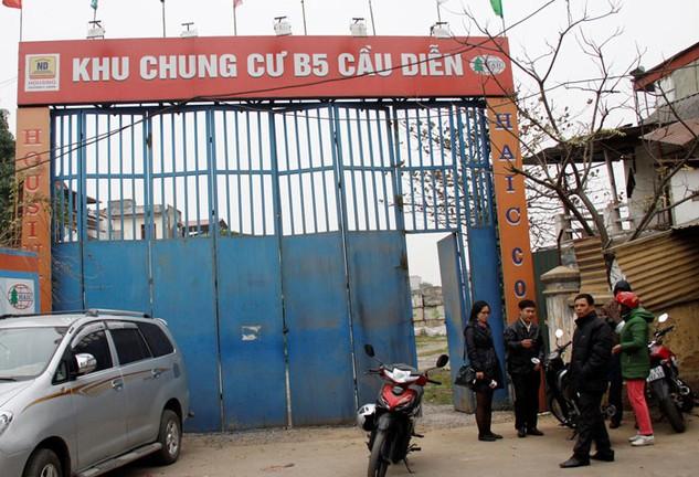 Quá trình thực hiện Dự án B5 Cầu Diễn, bị cáo Nguyễn Văn Tuẫn đã có nhiều vi phạm về huy động vốn, vay vốn. Ảnh: Lê Quân