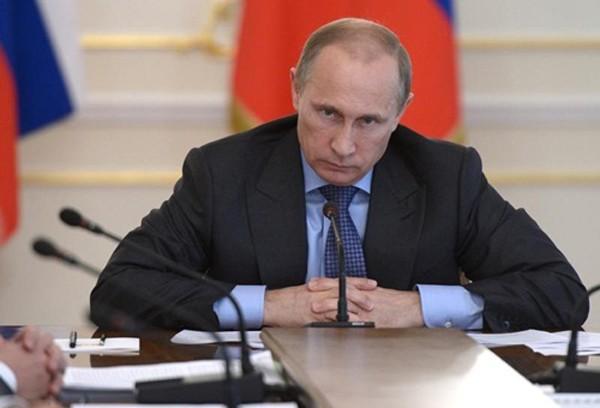 Tổng thống Nga - Vladimir Putin trong một cuộc họp tại Moscow. Ảnh: Reuters