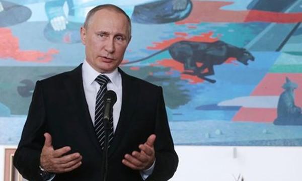 Tổng thống Nga Vladimir Putin. Ảnh: Tass