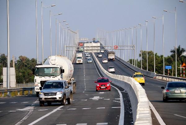 Đoạn đường dài gần 4 km sẽ được làm song song tuyến cao tốc TP HCM - Long Thành - Dầu Giây. Ảnh: H.P