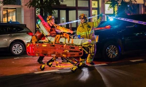 Vụ nổ ở New York cuối tuần trước làm 29 người bị thương. Ảnh:CNN.
