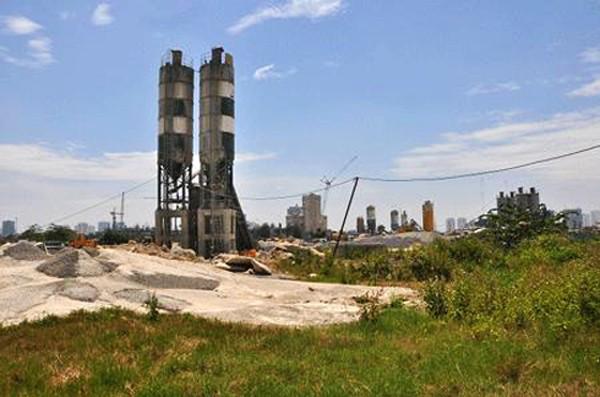 Dự án tháp dầu khí hiện đã được chuyển giao cho chủ đầu tư khác.