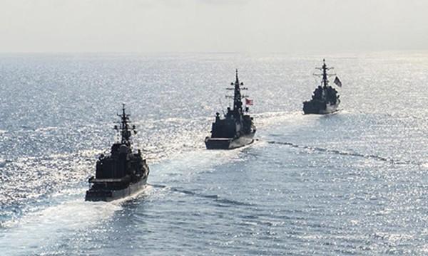 Trung Quốc lên án khi Nhật Bản tuyên bố sẽ tăng tuần tra ở Biển Đông. Ảnh:Reuters
