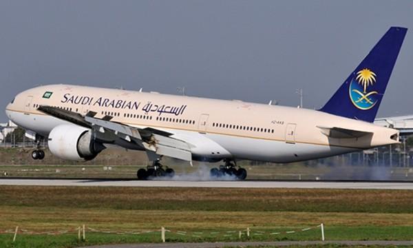 Một phi cơ của hãng Saudi Arabian. Ảnh:planespotters.net.