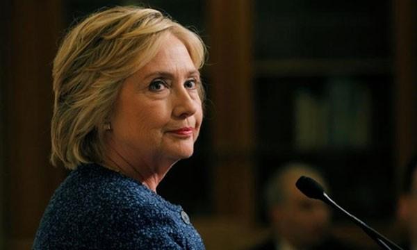 Ứng viên tổng thống đảng Dân chủ Hillary Clinton. Ảnh:Reuters