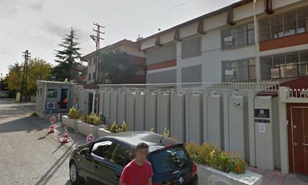 Đại sứ quán Israel ở Thổ Nhĩ Kỳ. Ảnh: RT.