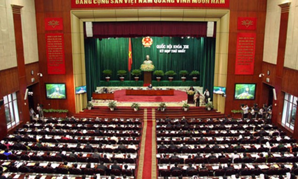 Quốc hội Việt Nam được cho là chưa thảo luận về TPP trong kỳ họp sắp tới. Ảnh:Tiến Dũng