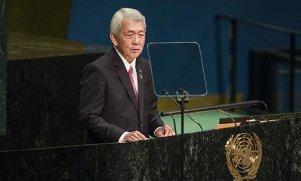 Ngoại trưởng Philippines Perfecto Yasay. Ảnh: AP