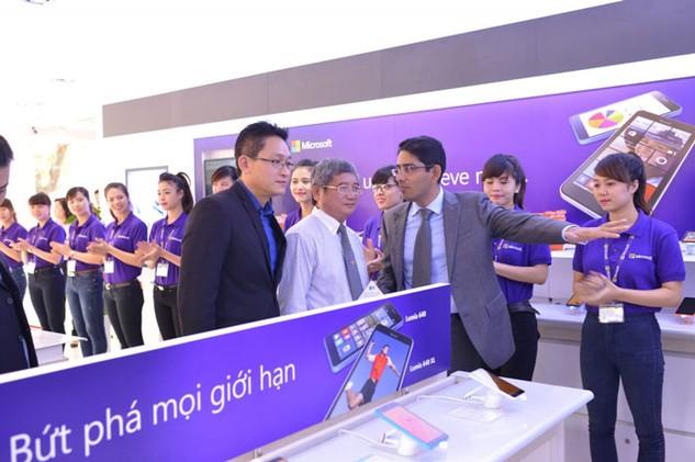 Microsoft sẽ cung cấp hạ tầng phần mềm cho doanh nghiệp khởi nghiệp trong lĩnh vực công nghệ thông tin của Việt Nam. Ảnh: st