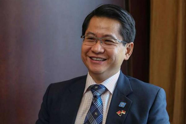 Đại sứ Singapore tại Trung Quốc Stanley Loh. Ảnh: Straits Times