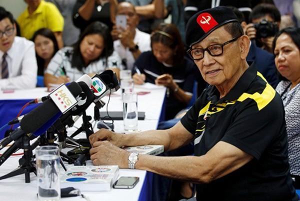 Ông Fidel Ramos, cựu tổng thống Philippines. Ảnh: Reuters.
