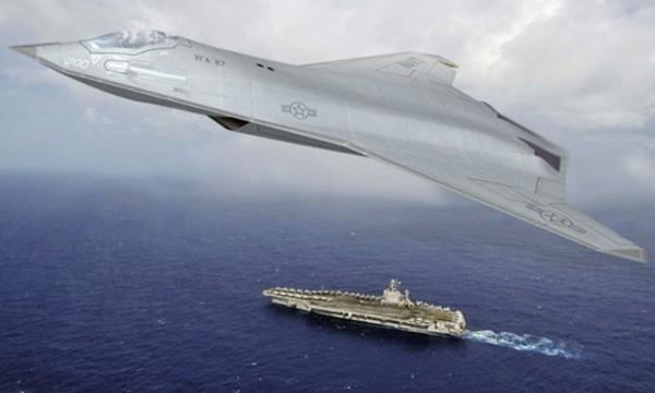 Bản phác họa tiêm kích tàng hình thế hệ 6 của hãng Northrop Grumman. Ảnh:Northrop Grumman