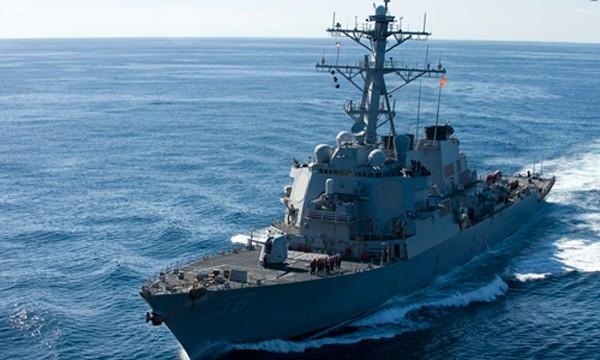 Tàu USS John S. McCain. Ảnh: US Navy