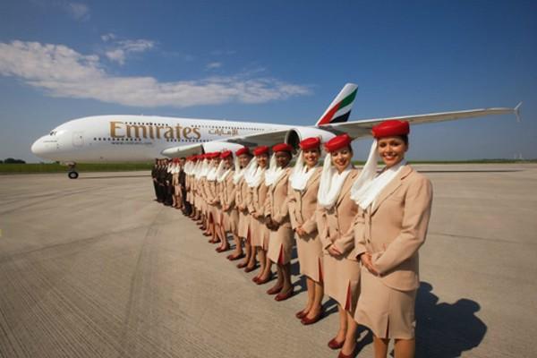 Đường bay Hà Nội – Dubai của Emirates vừa được mở từ 3/8 sau khi đã có điểm đến đầu tiên tại TP HCM năm 2012. Ảnh: DĐDN