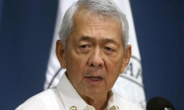 Ngoại trưởng Philippines Yasay. Ảnh: Gmanetwork