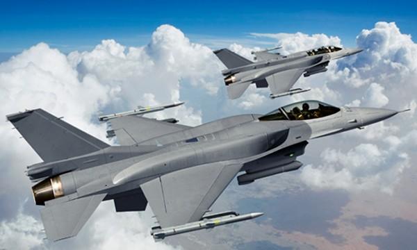 Chiến đấu cơ F-16 của không quân Mỹ sẽ tham gia tập trận. Ảnh: lockheedmartin.com