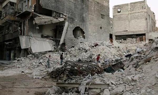 Mỹ cảnh báo giao tranh tại Aleppo sẽ dữ dội hơn. Ảnh minh hoạ: Reuters