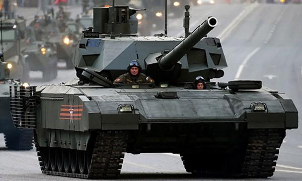 Tăng chiến đấu chủ lực T-14 Armata của Nga. Ảnh: RIA