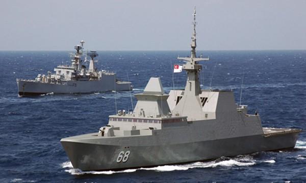 Cuộc diễn tập ở Biển Đông lần này nhằm tăng cường bảo đảm an ninh ở Đông Nam Á. Ảnh minh họa: Cimsec