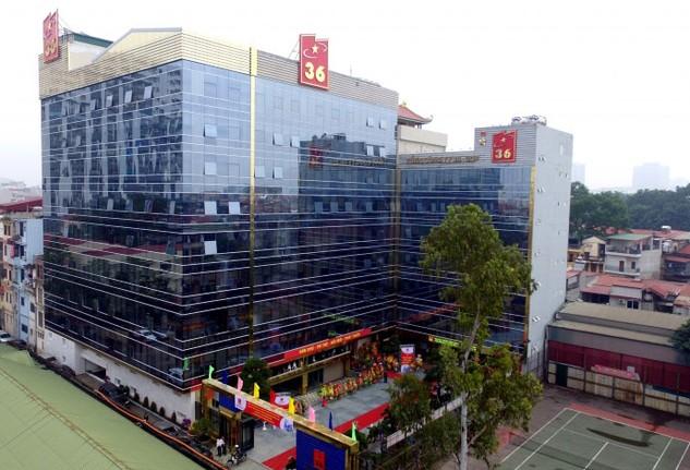 Theo Bên mời thầu, Tổng công ty 36 không đạt yêu cầu về Thiết bị thi công chủ yếu dự kiến huy động cho Gói thầu xây dựng trụ sở Kho bạc Nhà nước Nghệ An. Ảnh: Kỳ Thành