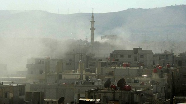 Khung cảnh thành phố Damascus. Ảnh: AFP